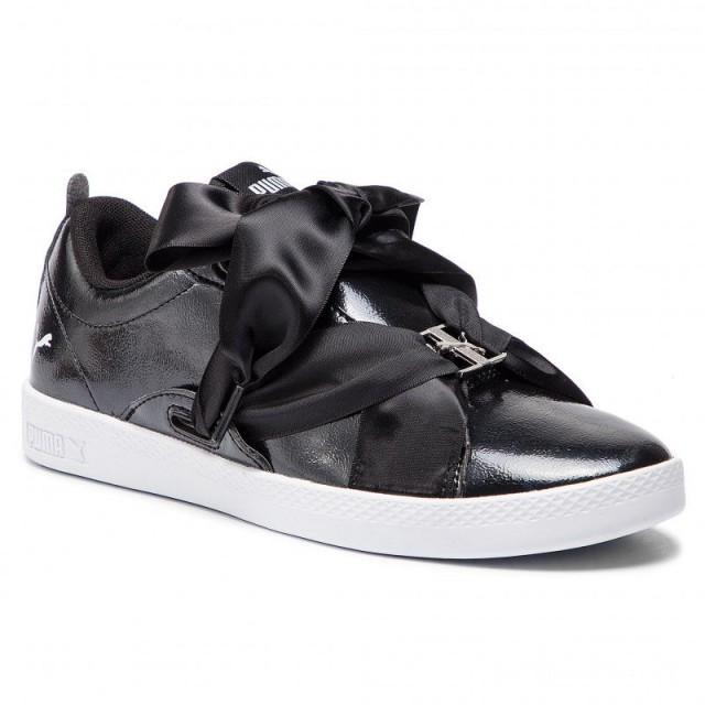 Achat Puma Sneakers Smash Wns Bkl Patent 369638 02 Black
