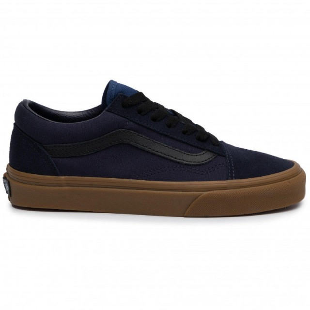 Vans Tennis Old Skool VN0A4BV5V4R1 (Gum) Night Sky/True Navy ...